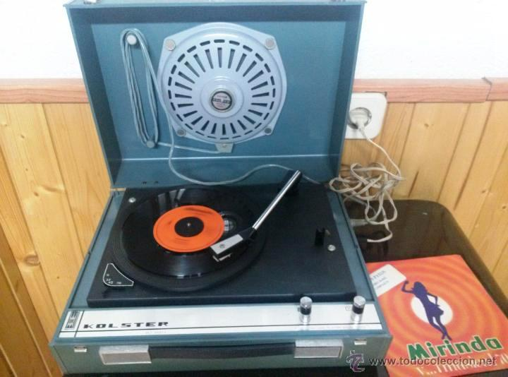 tocadiscos kolster guateque 60's